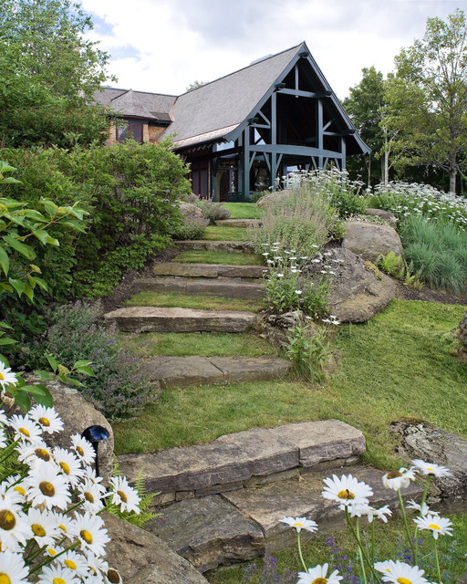 20 Really Interesting Ideas How To Design Stairs In The Garden