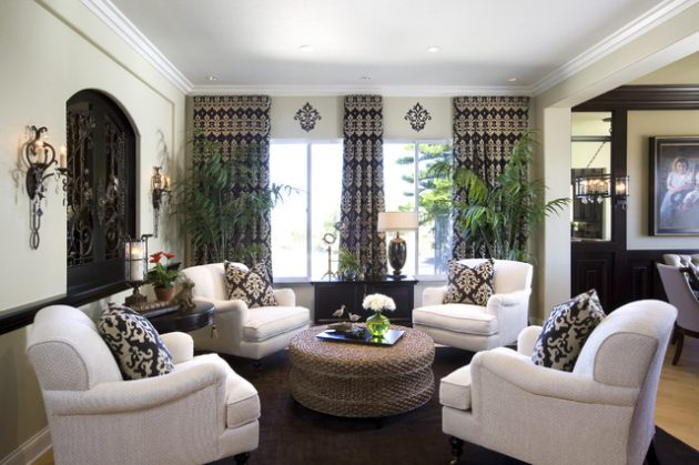 18 Outstanding Ideas To Decorate The Living Room With Flowers & Plants