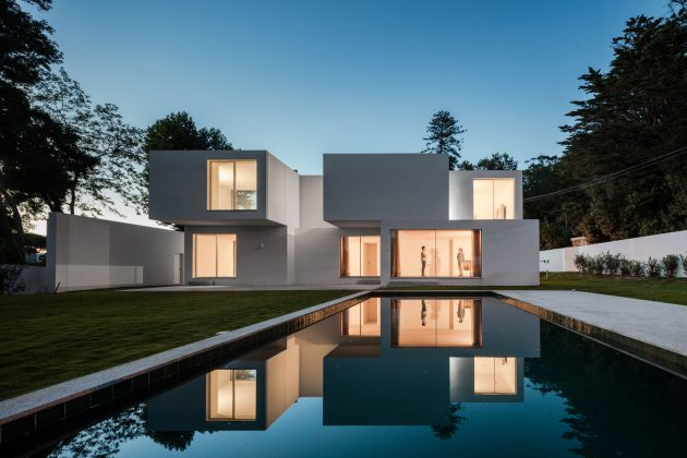 A Stack Of Blocks   The House MR by 236 Arquitectos in Portugal