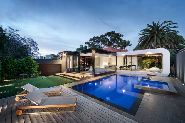 Curva House by LSA Architects & Interior Design in Melbourne, Australia