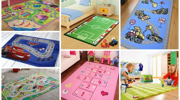 15 Compelling & Playful Carpet Designs To Surprise Your Kids