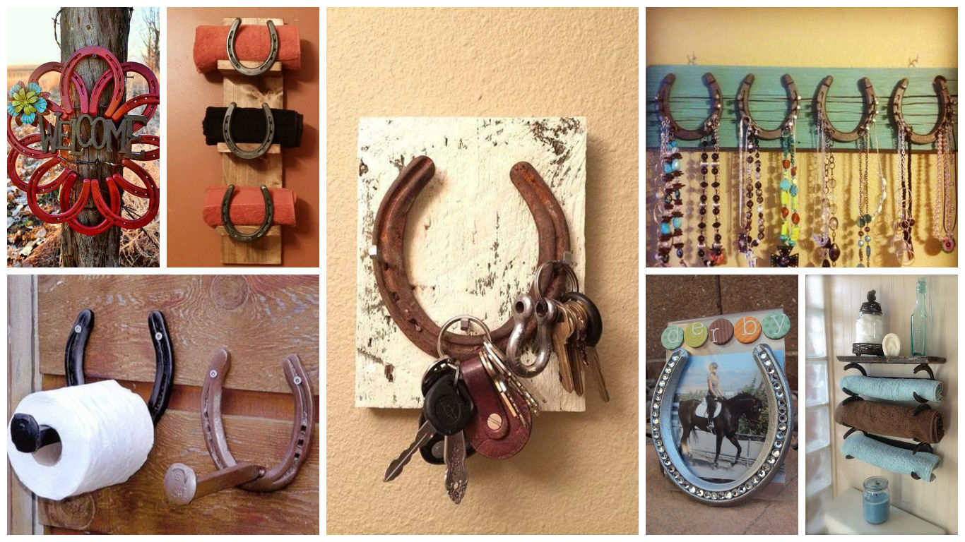 18 super cool diy horseshoe projects that will add charm for Your home decor