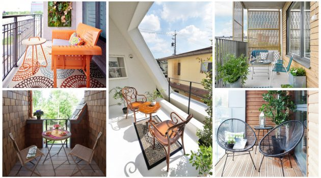 16 Attractive Small Balcony Designs You Have Never Seen Before