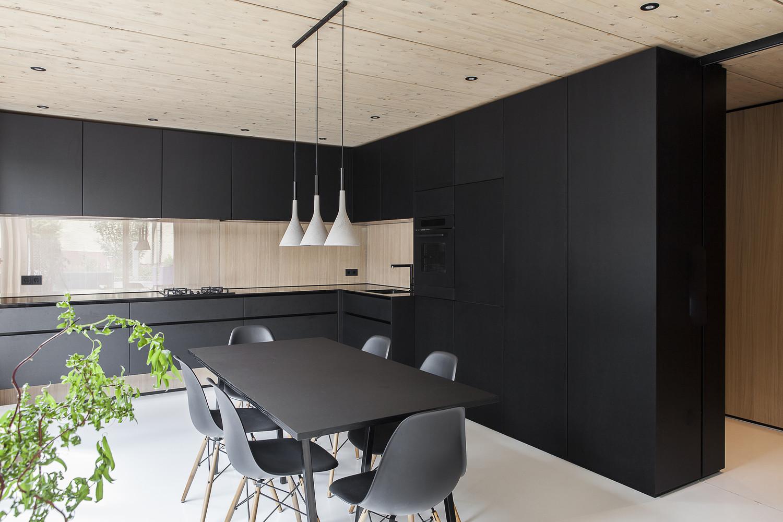 house b by format elf architekten in germany. Black Bedroom Furniture Sets. Home Design Ideas