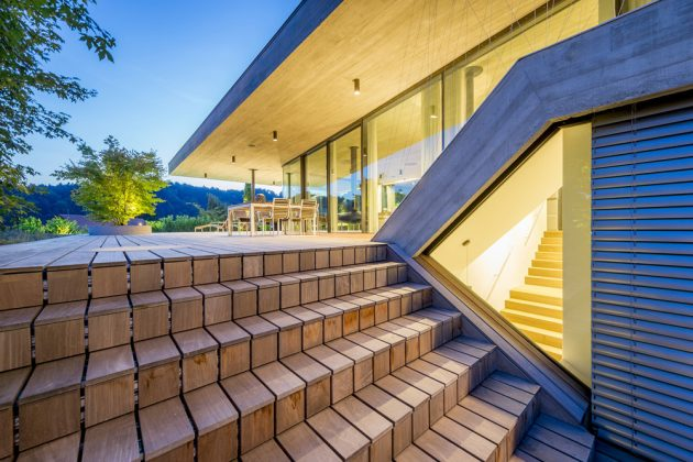 House E by Caramel Architekten in Linz, Austira