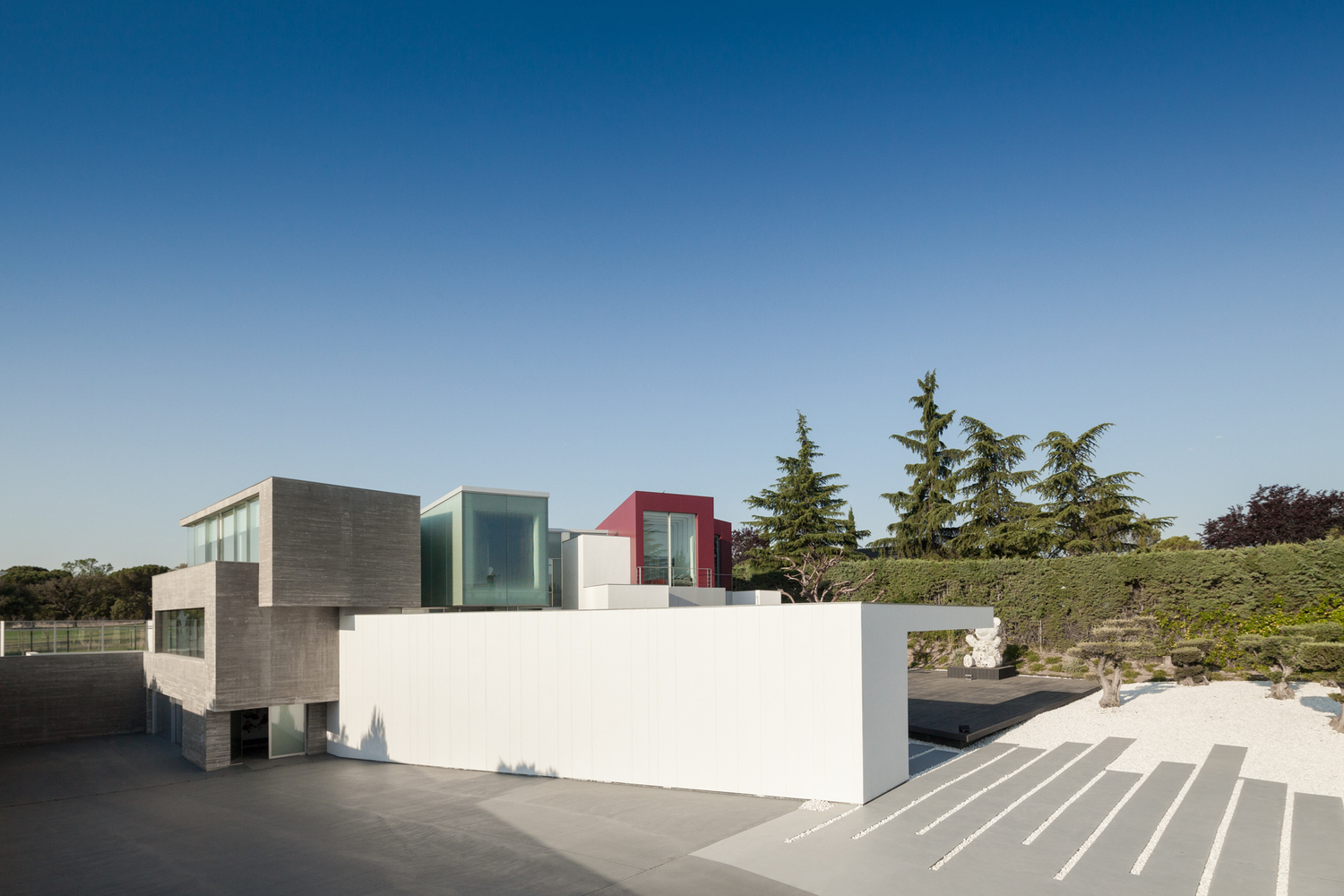 House H A Contemporary Villa By Abiboo In Madrid Spain
