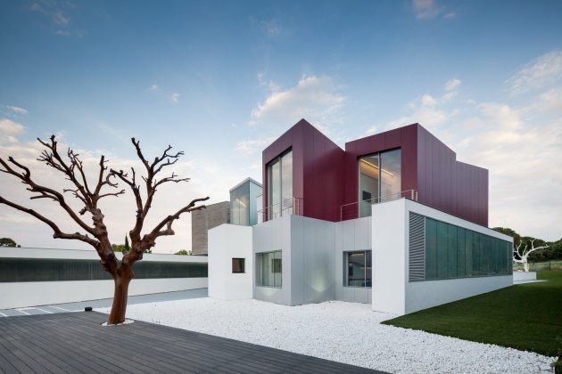 House H   A Contemporary Villa by Abiboo in Madrid, Spain