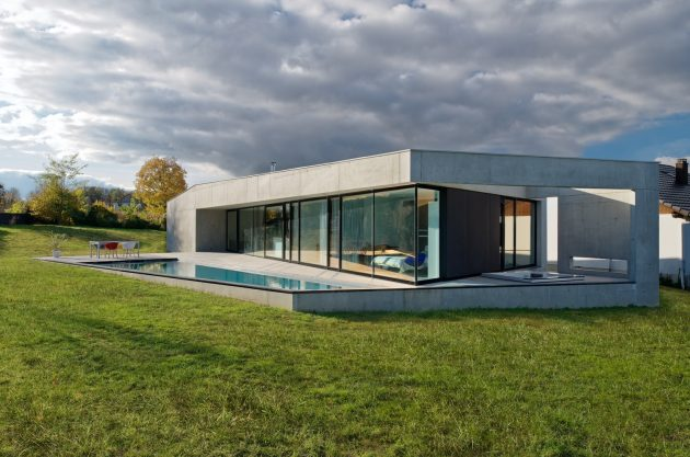 House S by Ideaa Architectures In Eastern France
