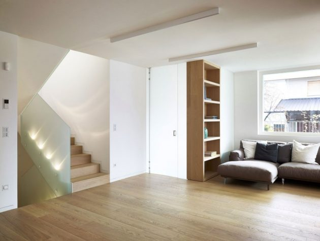 MP Apartment by Burnazzi Feltrin Architects in Valcanover, Italy