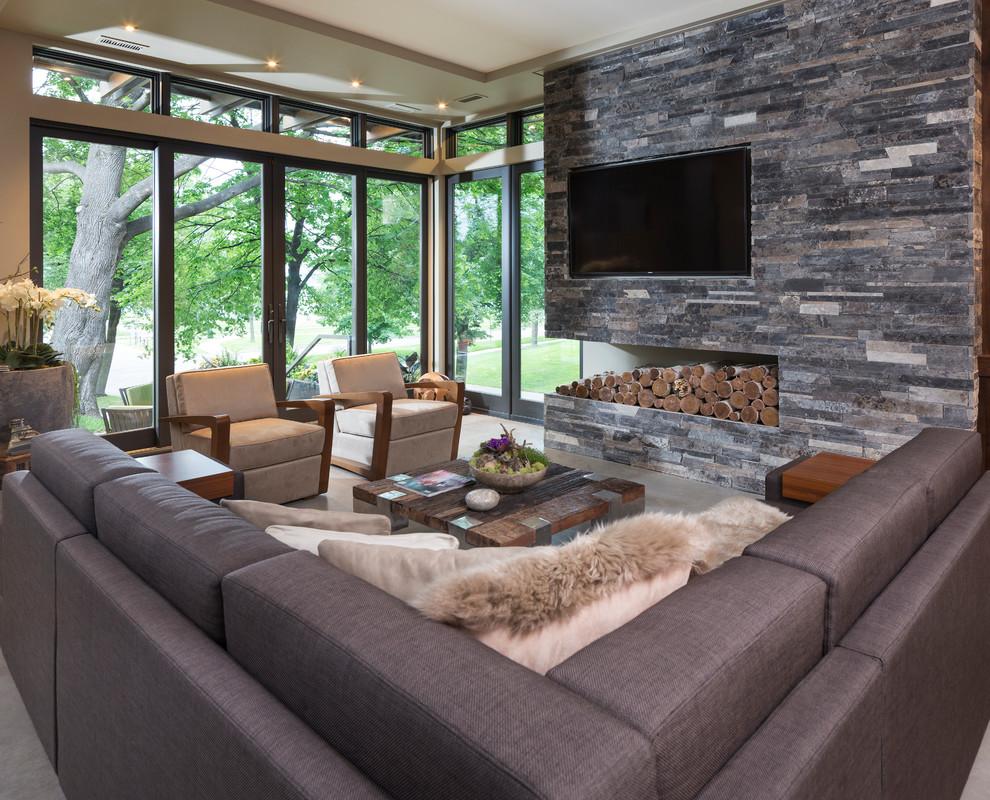 Modern Home Design: Modern Organic Home By John Kraemer & Sons In Minneapolis, USA
