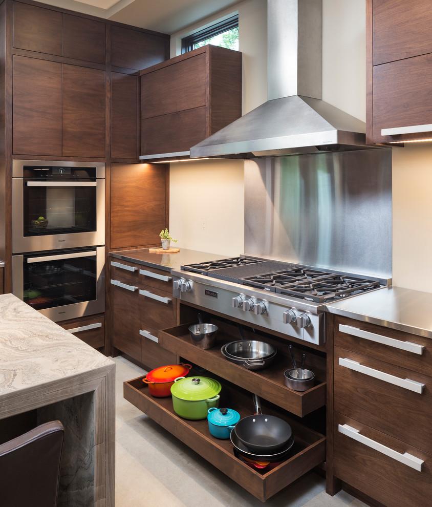 Modern Kitchen Ideas: Modern Organic Home By John Kraemer & Sons In Minneapolis, USA