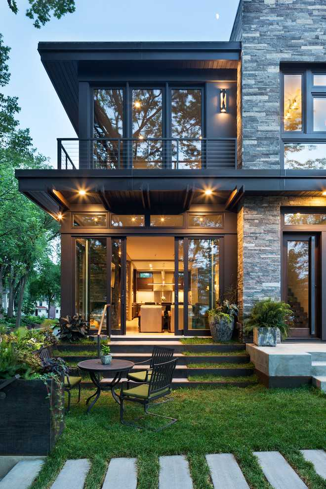 Home Design Ideas: Modern Organic Home By John Kraemer & Sons In Minneapolis, USA