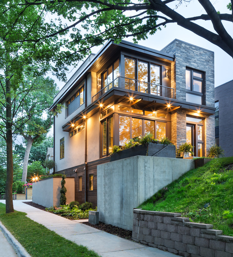 Home Design Ideas Architecture: Modern Organic Home By John Kraemer & Sons In Minneapolis, USA