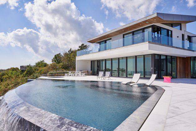 Montauk Beach House by KATCH I.D. in East Hampton, NY