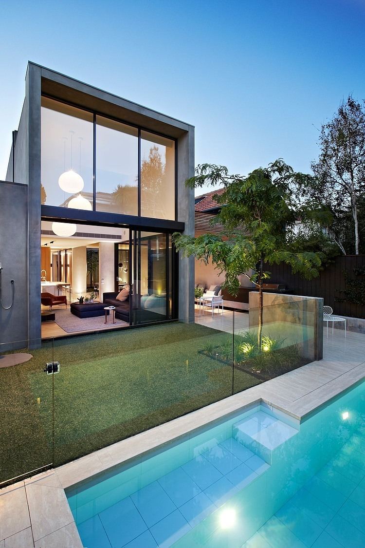 Oban house by agushi and david watson architect in south for Modern houses design