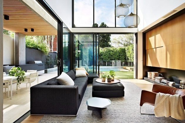 Oban House by AGUSHI and David Watson Architect in South Yarra, Australia