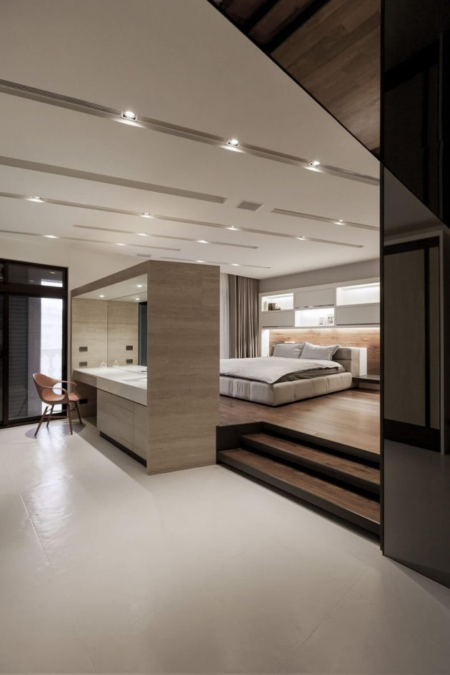Simply Modern - The Lo Residence by LCGA Design in Taiwan