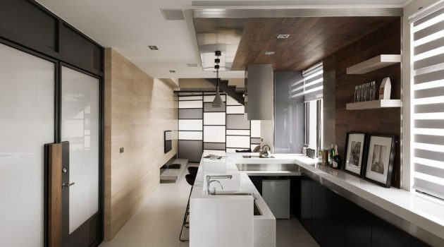 Simply Modern – The Lo Residence by LCGA Design in Taiwan