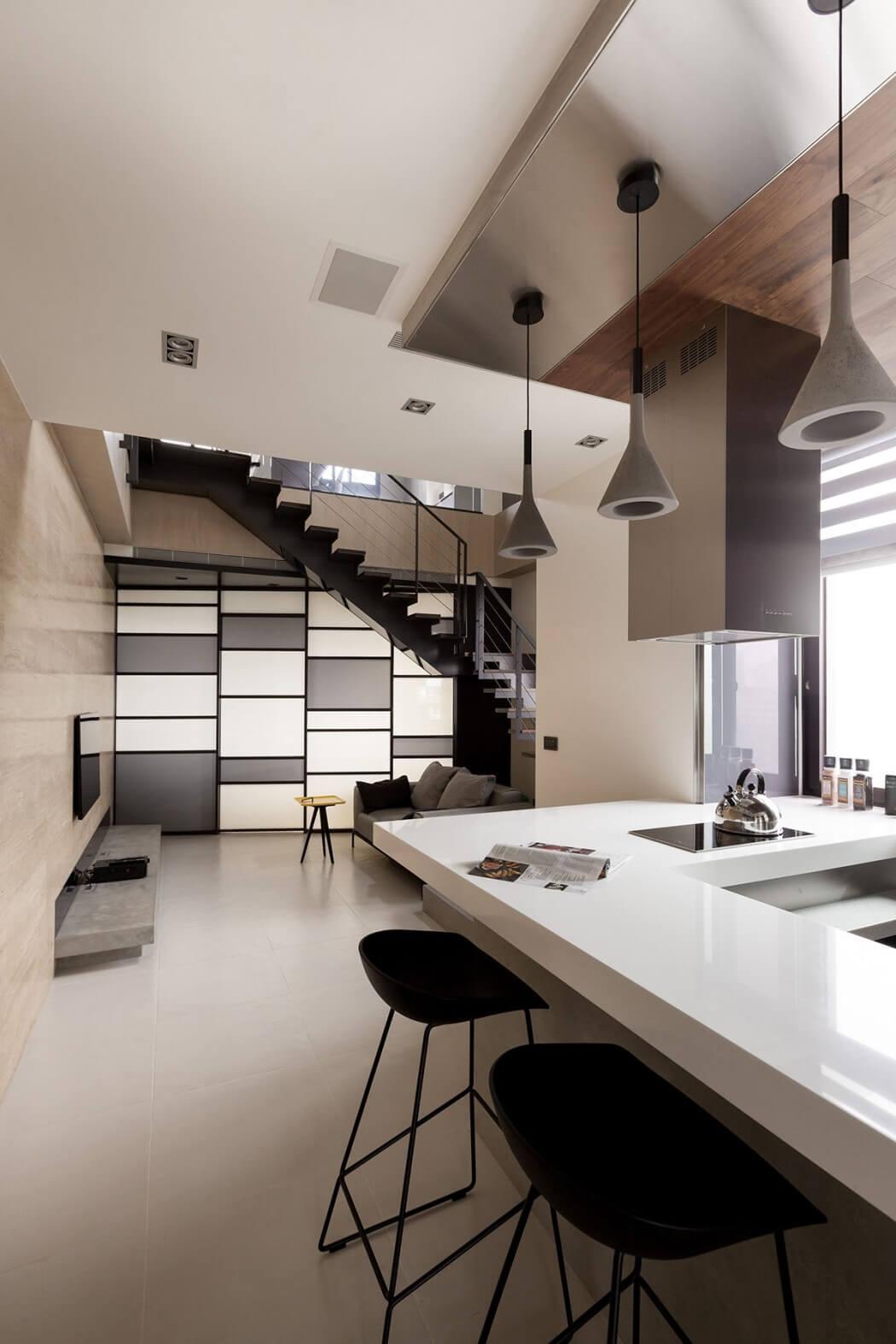 simply modern - the lo residencelcga design in taiwan