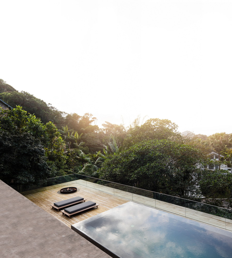 Open layout house concept by studio mk27 - The Jungle House By Studio Mk27 In Brazil