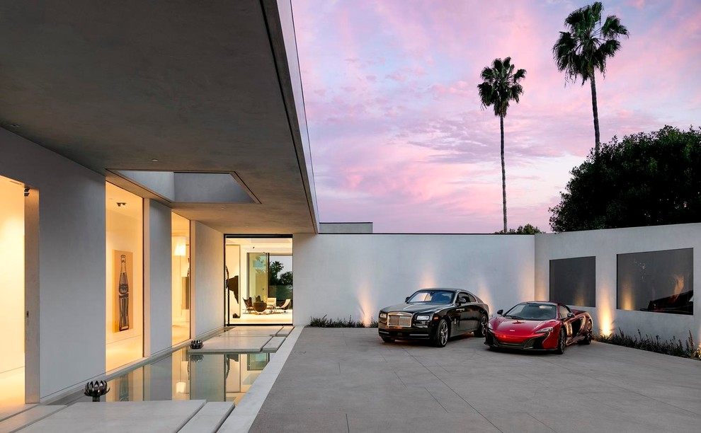The Museum Modern Home By DIJ Group In Beverly Hills LA