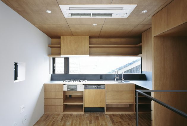 The Nest by APOLLO Architects in Nagoya, Japan