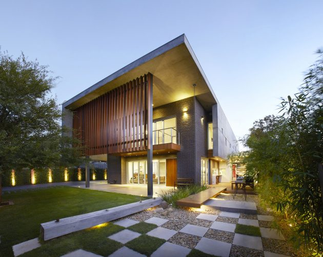 The Wolf House by Wolf Architects in Chadstone, Australia