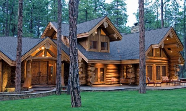 Not Your Grandpa's Dark Cabin: The Bright and Airy Log and Timber Homes of Today