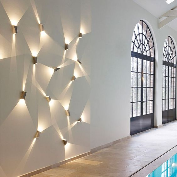 Modern Home Designs: 10 Cool Wall Lamp Designs To Adorn Your Living Space