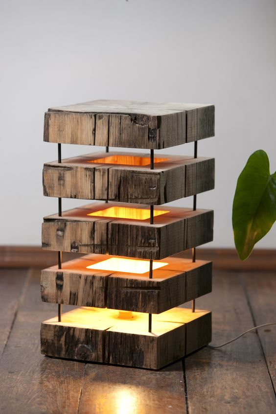 16 Fascinating Diy Wooden Lamp Designs To Spice Up Your