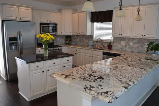 18 Gorgeous Ideas Of Granite Kitchen Countertops That You Shouldn't Miss