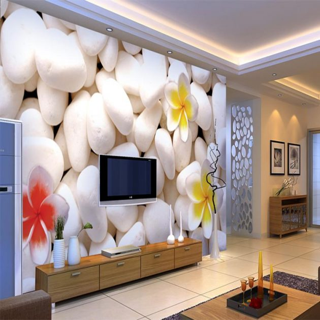 17 fascinating 3d wallpaper ideas to adorn your living room Best wallpapers for living room
