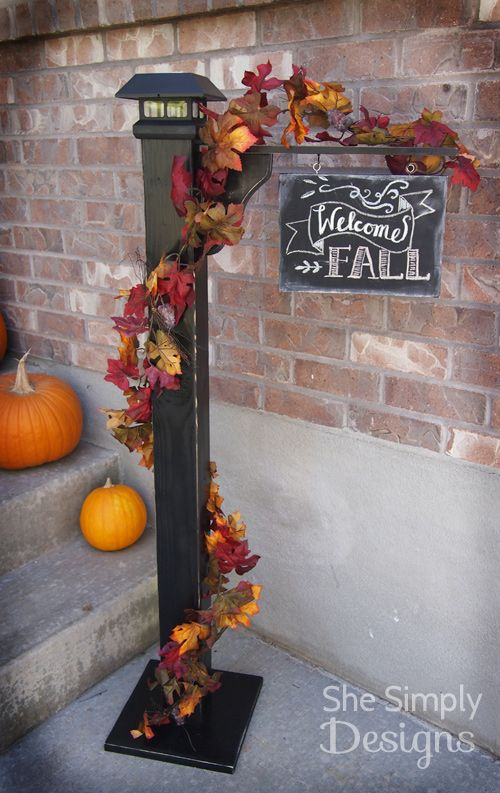 18 Fascinating Outdoor Fall Decorations That You Shouldn T