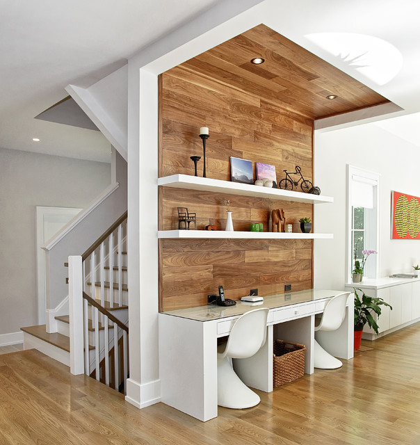 Stylish Understairs Study: 15 Stylish Study Space Designs With Contemporary Spirit