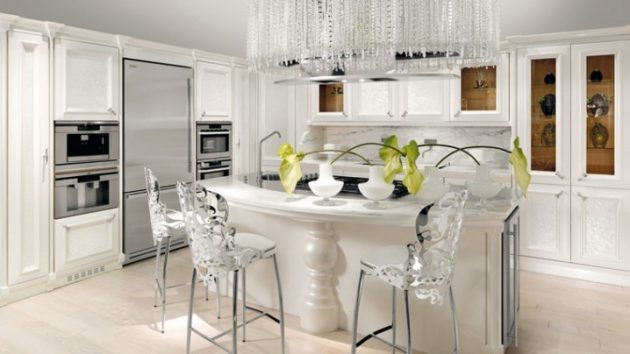 19 outstanding luxury kitchen designs that will fascinate you for Luxury kitchen designs 2012