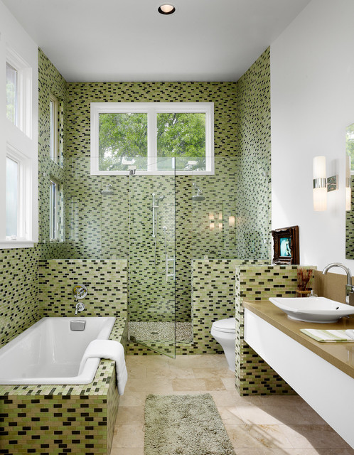 18 Gorgeous Bathroom Mosaics That You Shouldnt Miss