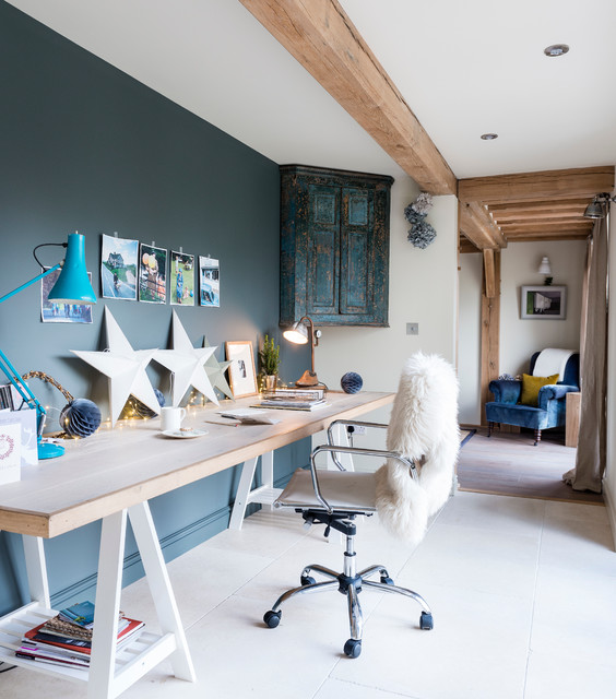 Study Room Ideas Home: 15 Stylish Study Space Designs With Contemporary Spirit