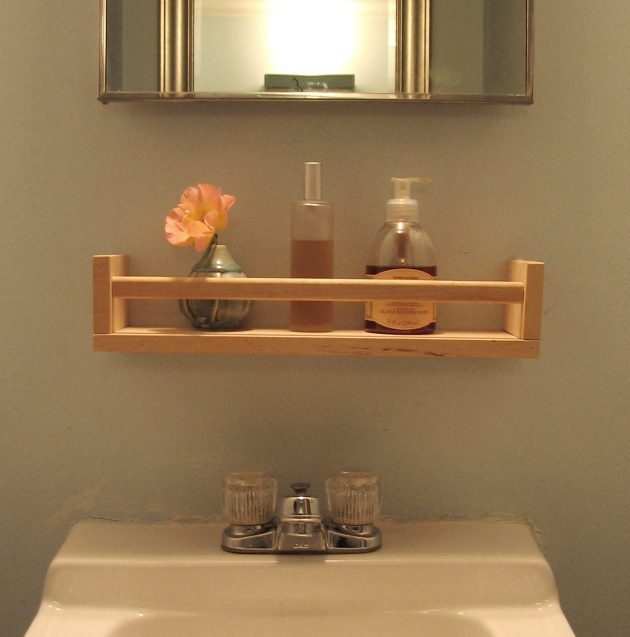 Diy wooden bathroom shelves that you can make just in