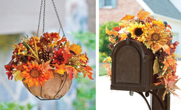 18 Fascinating Outdoor Fall Decorations That You Shouldn't Miss