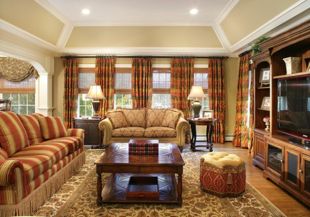 18 timeless living room designs with combinations of brown for Living room 15 x 18
