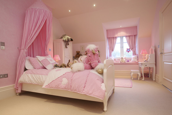Girls Bedroom Ideas For Every Child: 16 Outstanding Pink Bedroom Designs That Are Dream Of