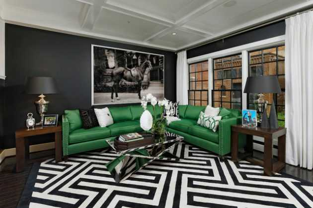 18 Extravagant Black Living Room Designs That Never Go Out