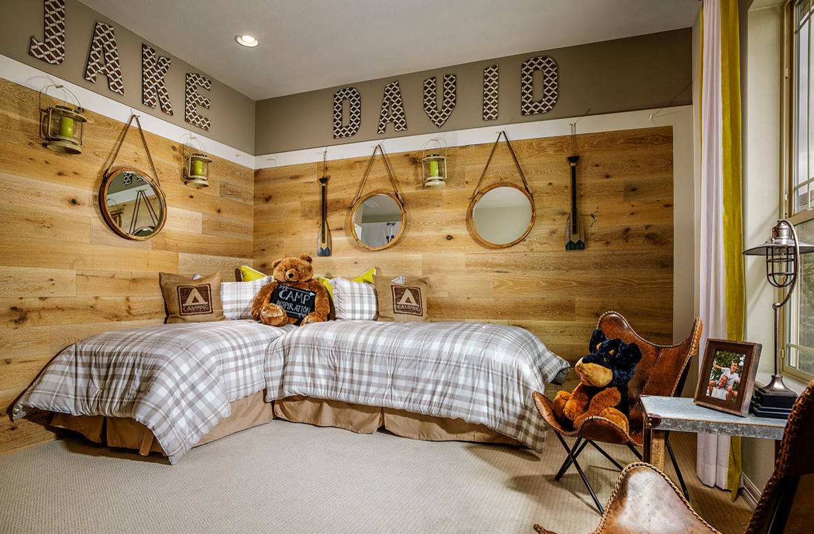 15 charming rustic kids' room designs that strike with warmth and