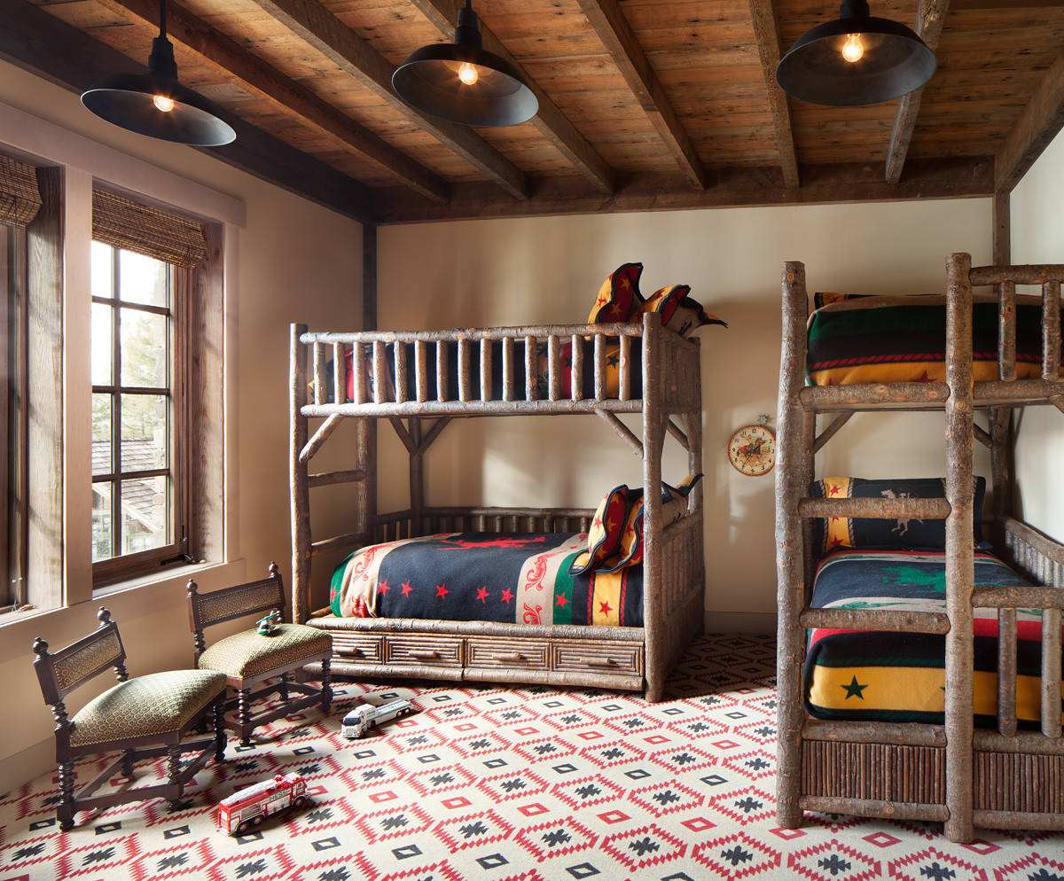 15 Charming Rustic Kids Room Designs That Strike With Warmth And Comfort 8 - 15+ Small House Comfort Room Design  Images