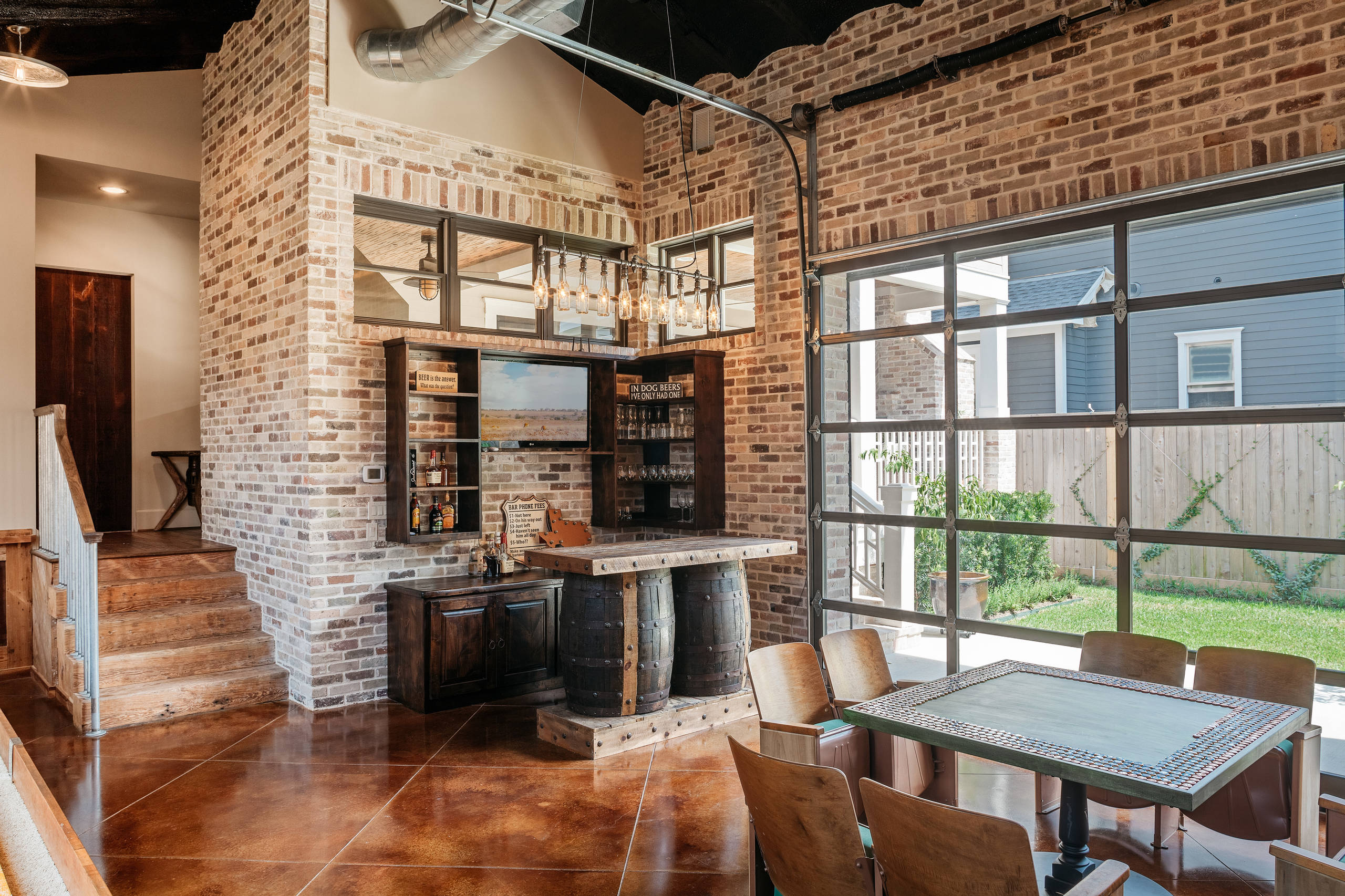 15 Distinguished Rustic Home Bar Designs For When You