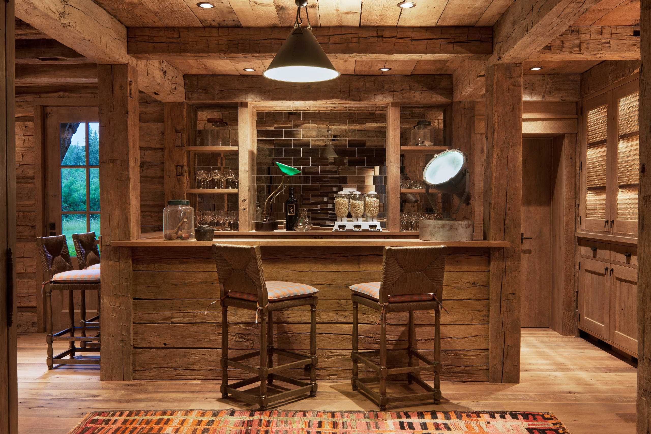 15 distinguished rustic home bar designs for when you Residential bar design ideas