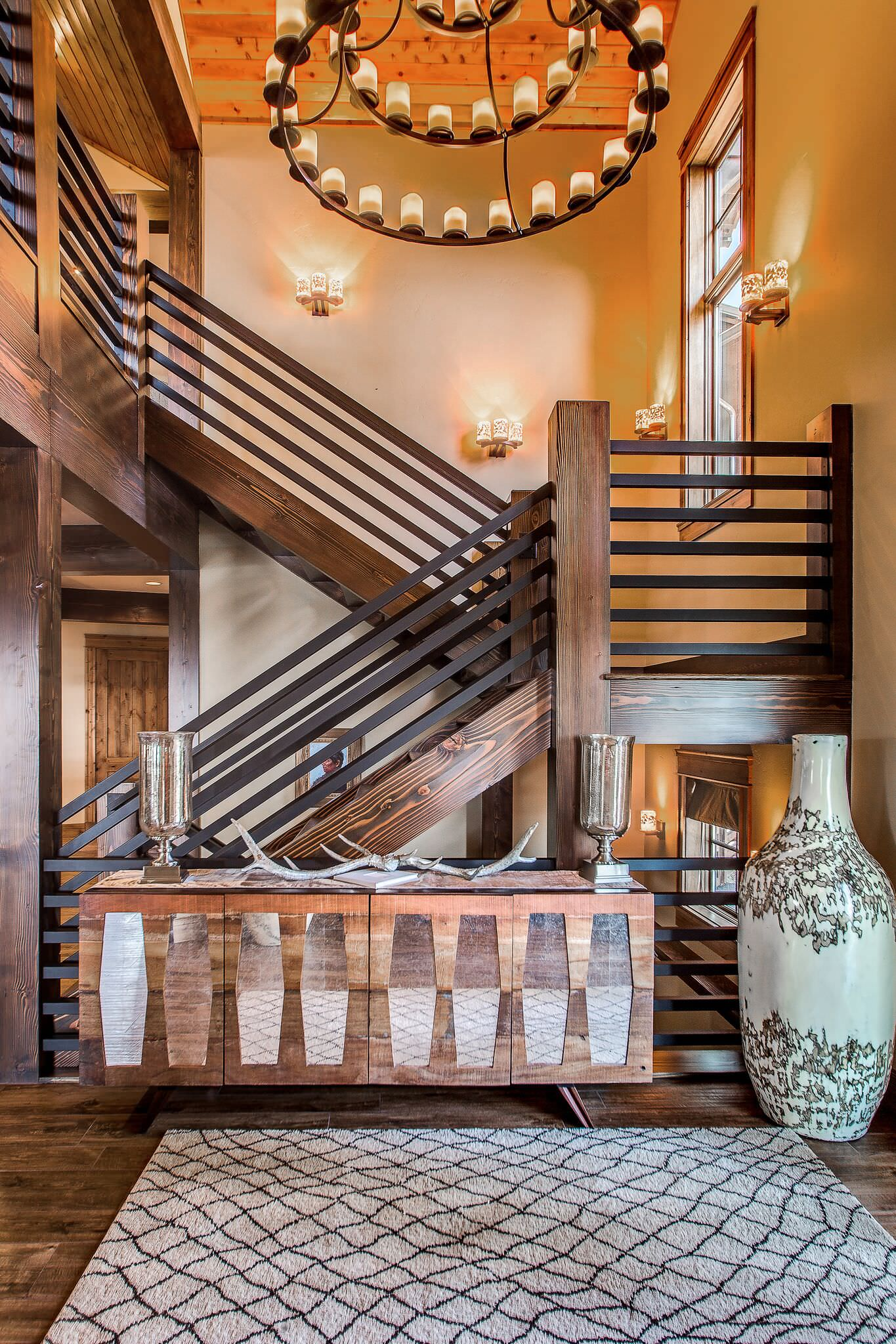 15 Enchanting Rustic Staircase Designs That You're Going