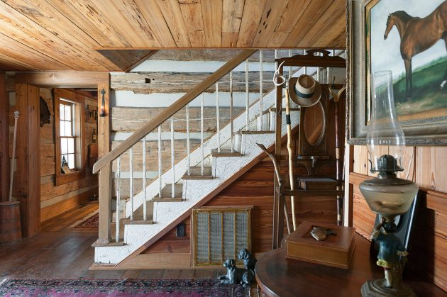 15 Enchanting Rustic Staircase Designs That Youre Going To Fall In Love With