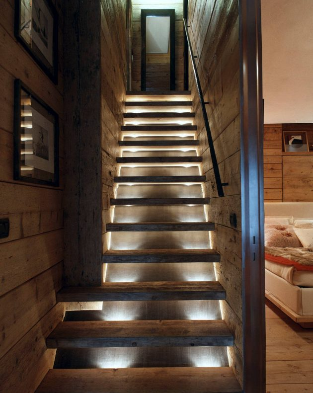 15 Enchanting Rustic Staircase Designs That You're Going To Fall In Love With