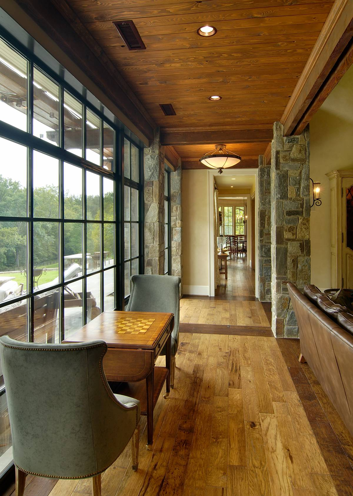 Modern Living Room Designs: 15 Great Rustic Hallway Designs That Will Inspire You With